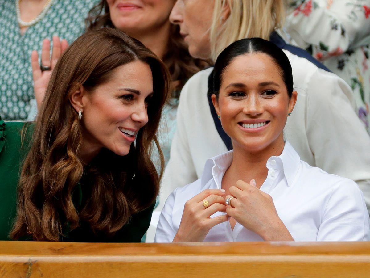 Foto: Kate Middleton y Meghan Markle, juntas. (Reuters)