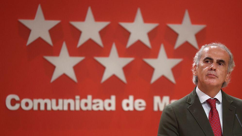 Foto: El consejero de Sanidad de la Comunidad de Madrid, Enrique Ruiz Escudero. (EFE)