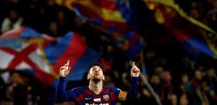 Post de La obra de arte de Luis Suárez dentro del festival de Leo Messi y el Barça