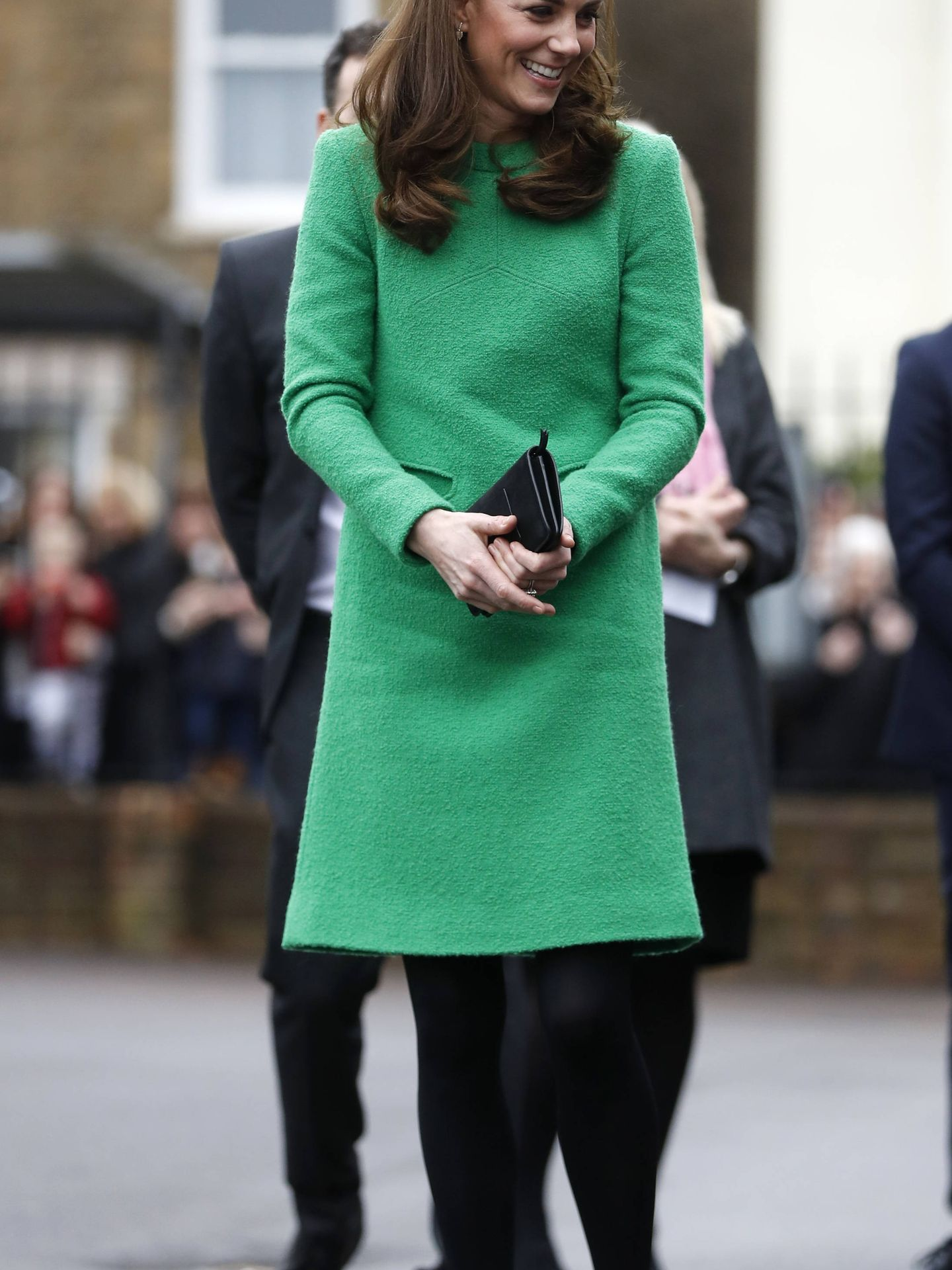 Look completo de Kate Middleton. (Getty)
