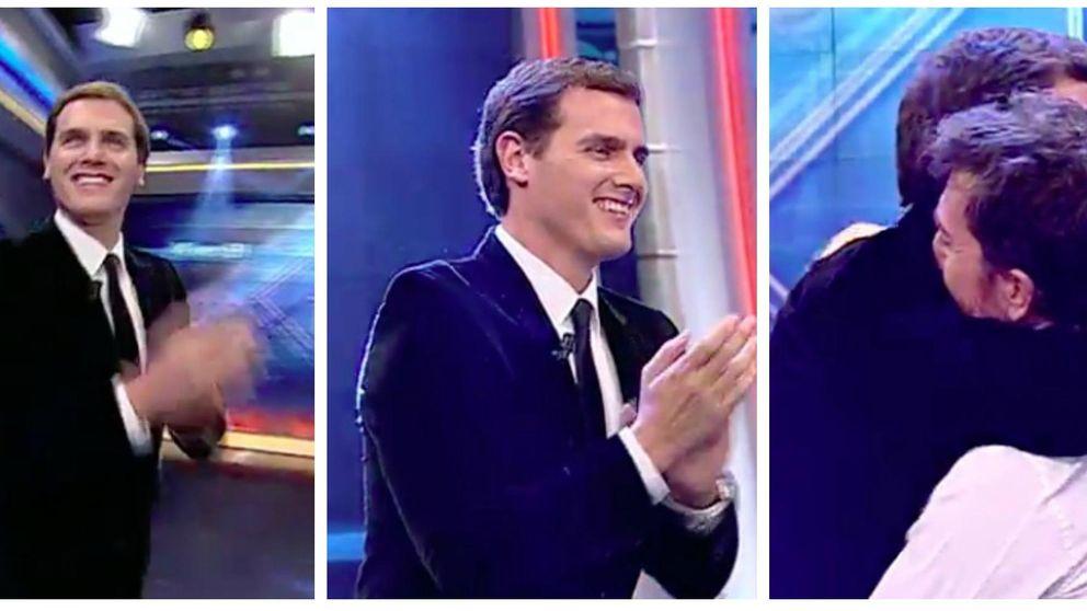Antena 3 domina gracias al fútbol y a 'El hormiguero' con Albert Rivera