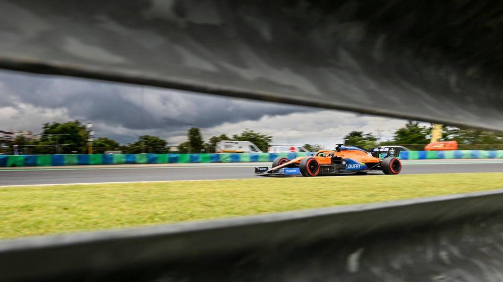 Foto: A pesar de entrar en el Q3 por tercera vez, Sainz no se sentía tan satisfecho como en Austria (MCLAREN)