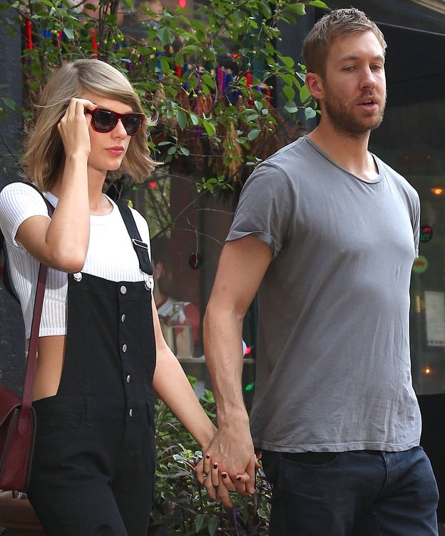 Foto: Taylor Swift y Calvin Harris (Gtres)
