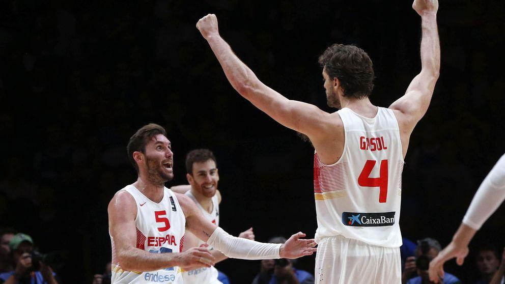 Las mejores imágenes de la gesta de Gasol y España
