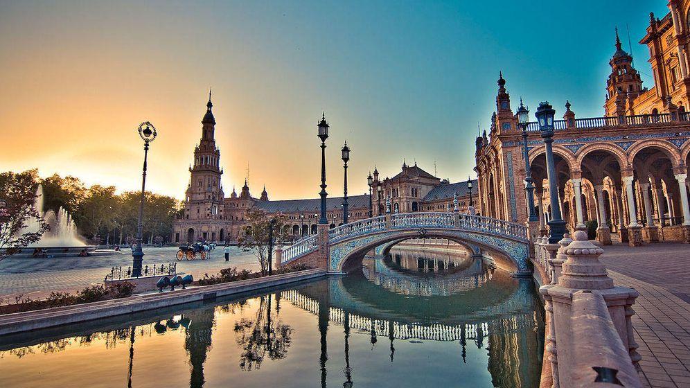 Foto: Plaza de España, Sevilla. (CC/Oma teos)