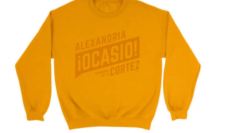 Sudadera pro Alexandria Ocasio-Cortez.