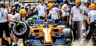 Post de McLaren y Alonso, cuando una décima te tiene en el filo de la navaja de Mónaco