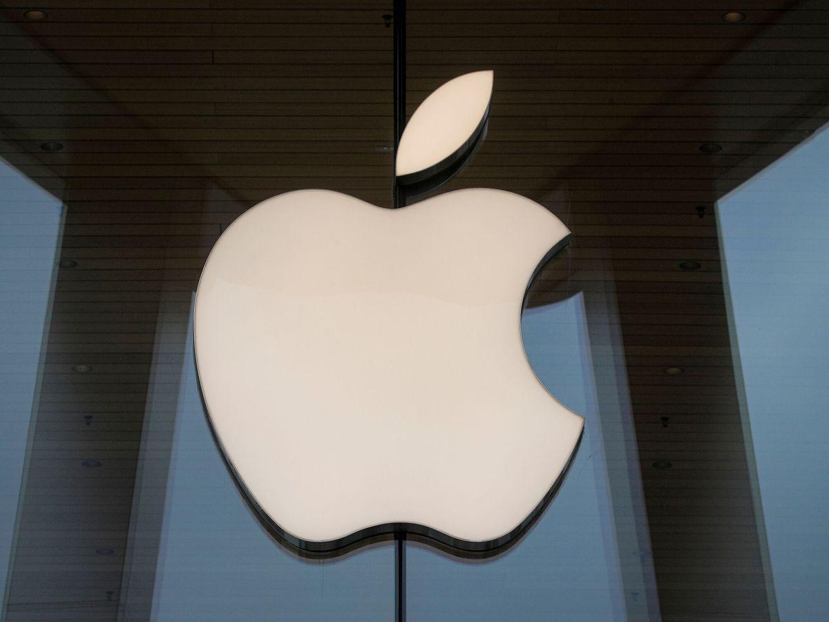 Foto: Fotografía de archivo del logo de Apple. (Reuters)