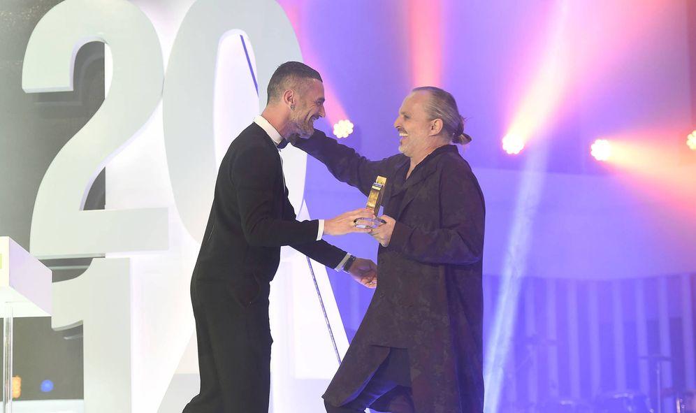 Foto: Miguel Bosé y David Delfín en una imagen de archivo. (Gtres)
