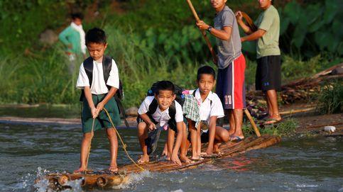 Niños de todo el mundo recorren caminos peligrosos para poder ir al colegio