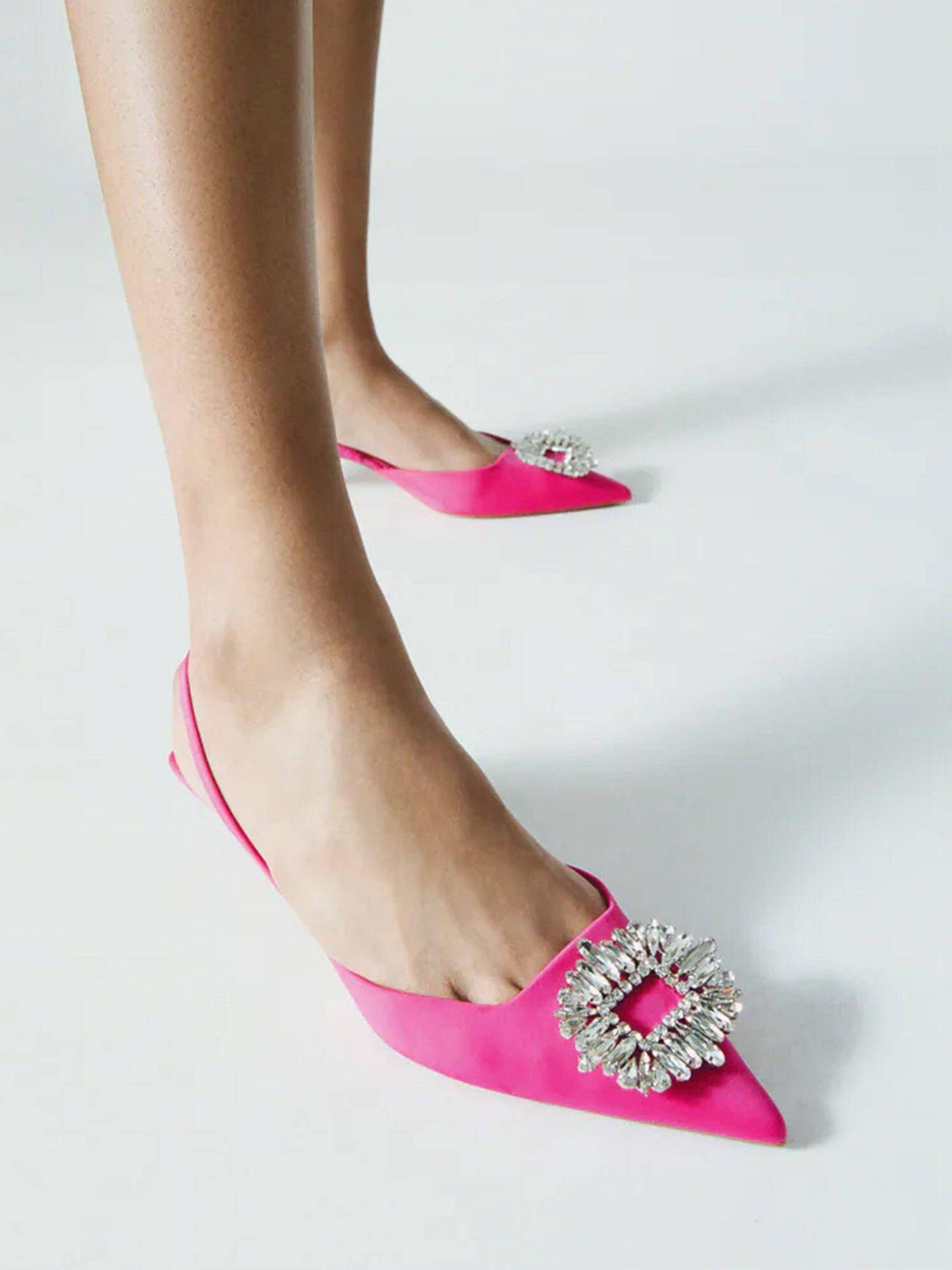 Zapatos de Zara. (Cortesía)