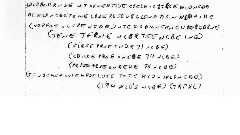 El misterio McCormick: un muerto dejó este mensaje y nadie lo ha resuelto aún