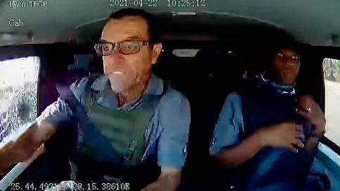 Atraco de película a un camión blindado: dos héroes destrozaron a los ladrones
