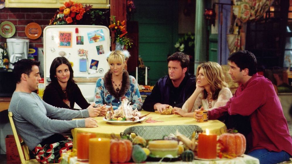 Foto: Fotograma de la serie de television 'Friends'. (Cordon Press)