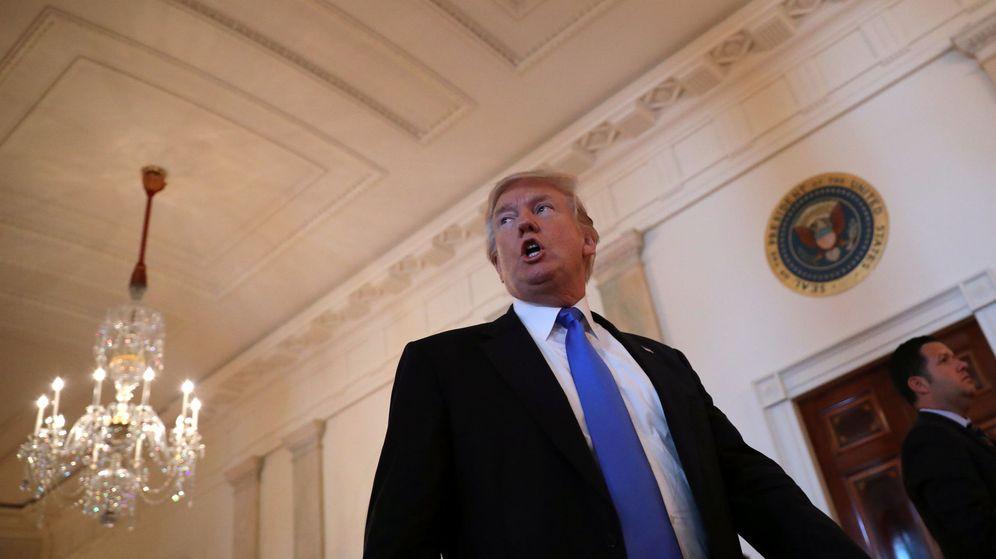 Foto: La entrevista tuvo lugar en el Despacho Oval, situado en el Ala Oeste de la Casa Blanca. (REUTERS)