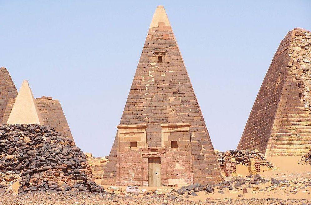 Foto: Las tumbas perdidas de Nubia: así son las desconocidas 250 pirámides de Sudán. (CC/Wikimedia Commons)