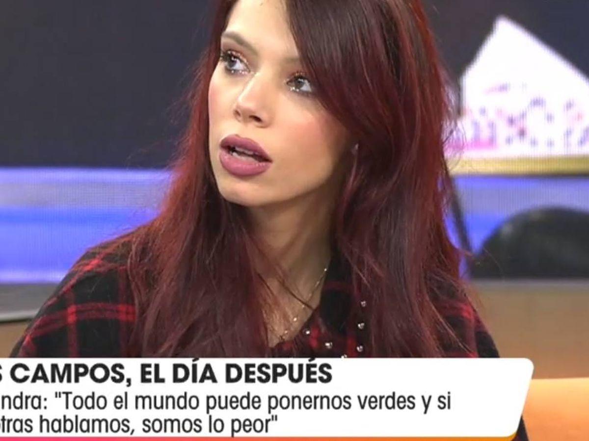 Foto: Alejandra Rubio, en 'Viva la vida'. (Telecinco).