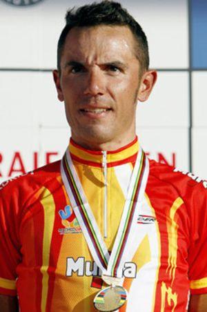 Joaquim Rodríguez bronce, en una prueba que ganó Cadel Evans