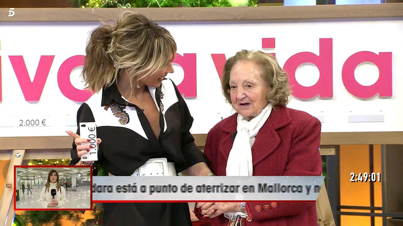 Carmen, la telespectadora que casi vuelve a matar de risa a Emma García en 'Viva la vida'