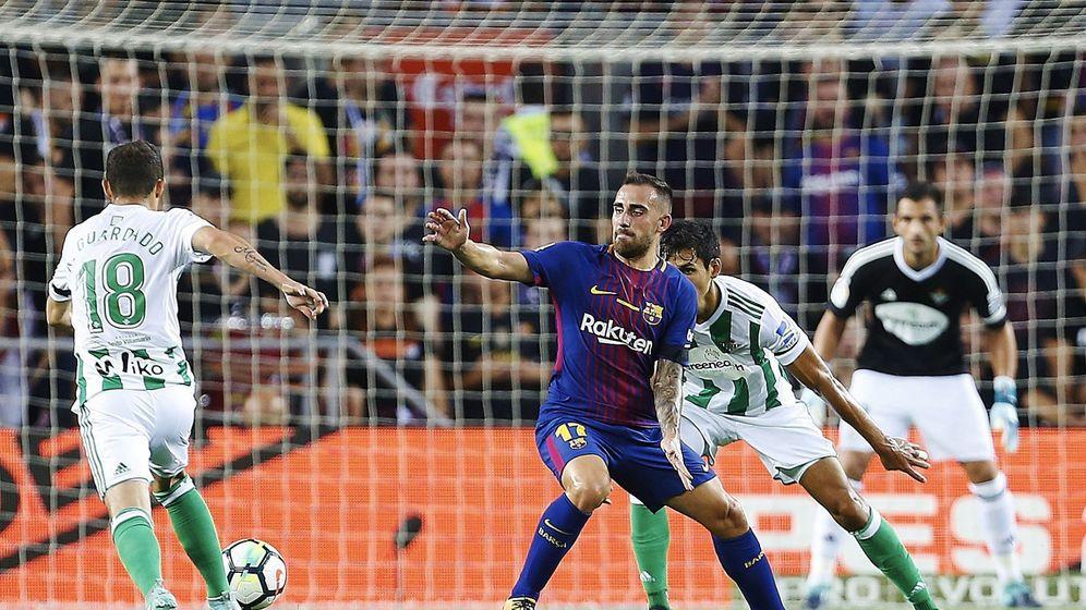 Foto: Alcácer solo ha jugado 129 minutos esta temporada. (EFE)