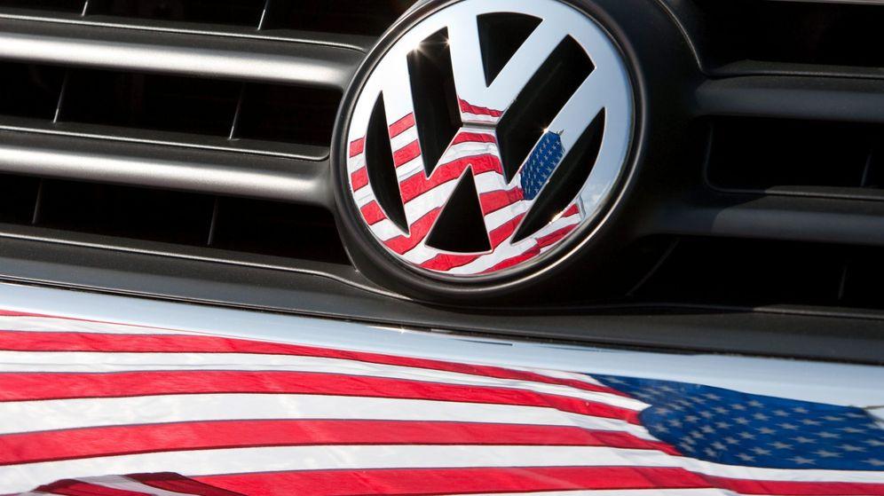 Foto: Logo de Volkswagen. (EFE)