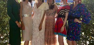 Post de Por fin hubo duelo de estilo: Belén Corsini también fue a la boda de Valentina S. Zuloaga