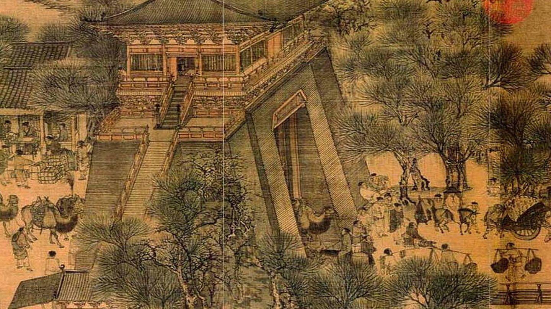 Pintura de Zhang Zeduan.