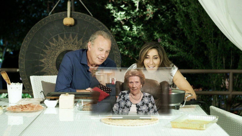 La madre de Paz Padilla apareció en el programa de Bertín. (Mediaset)