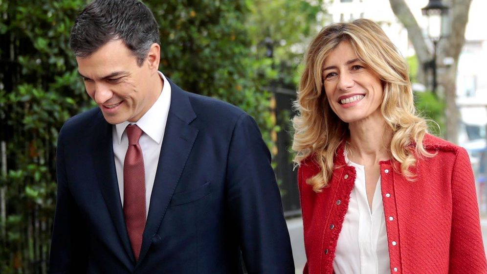 Foto: Pedro Sánchez y Begoña Gómez. (Reuters)