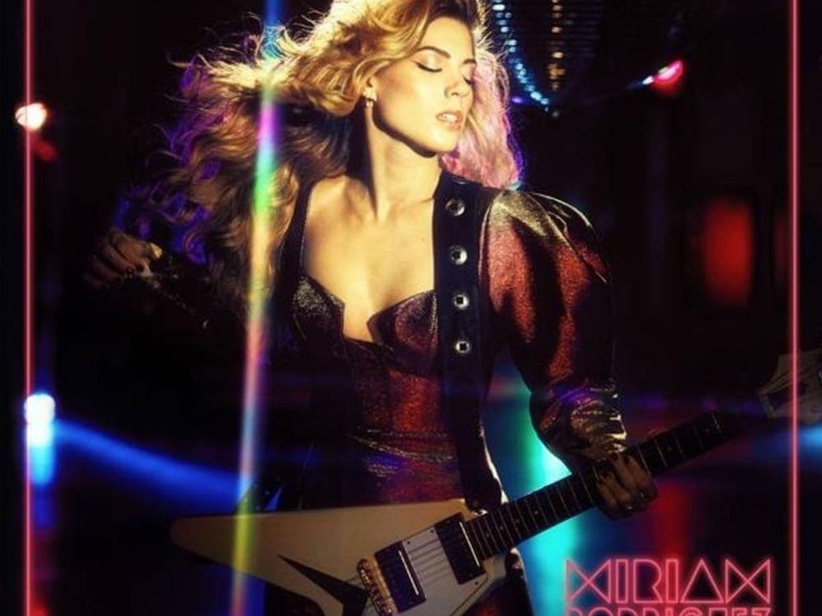 Foto: Portada del nuevo álbum de Miriam Rodríguez. (Universal Music)