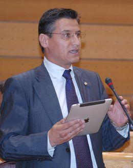 Foto: Luis Salvador, exsenador del PSOE.