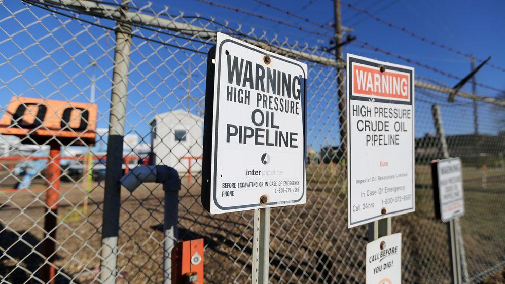 Foto: Campo de oleoductos (Reuters)