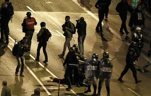 La Fiscalía pedirá a los medios imágenes de los disturbios del 22-M