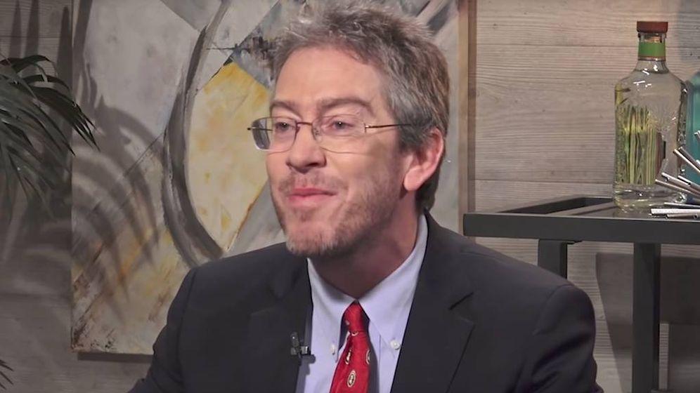 Foto: El profesor, durante su paso por la televisión americana.