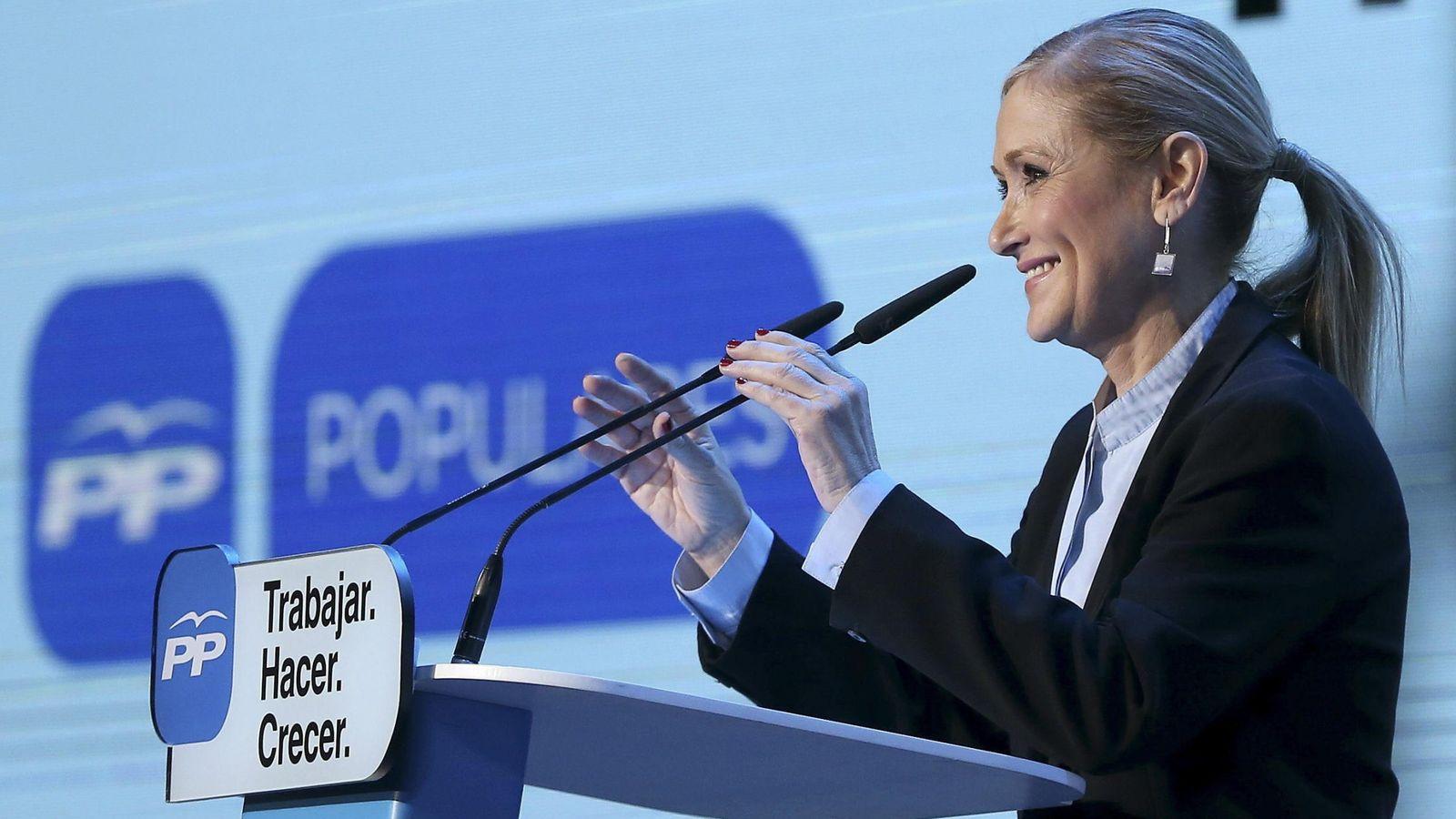 Foto: La candidata 'popular' a la presidencia de la Comunidad de Madrid, Cristina Cifuentes. (Efe)