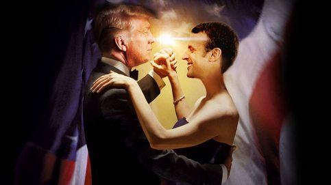 Trump y Macron, una comedia romántica