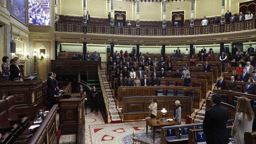 Foto: Sesión plenaria en el Congreso de los Diputados. (EFE)
