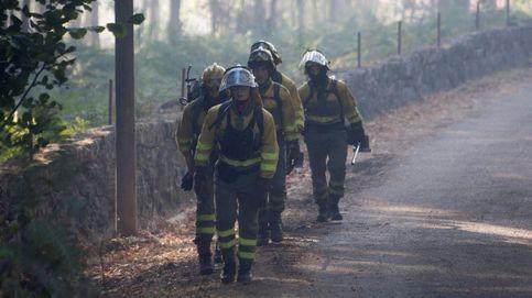 Cuatro incendios activos en Galicia, el mayor arrasa 200 hectáreas