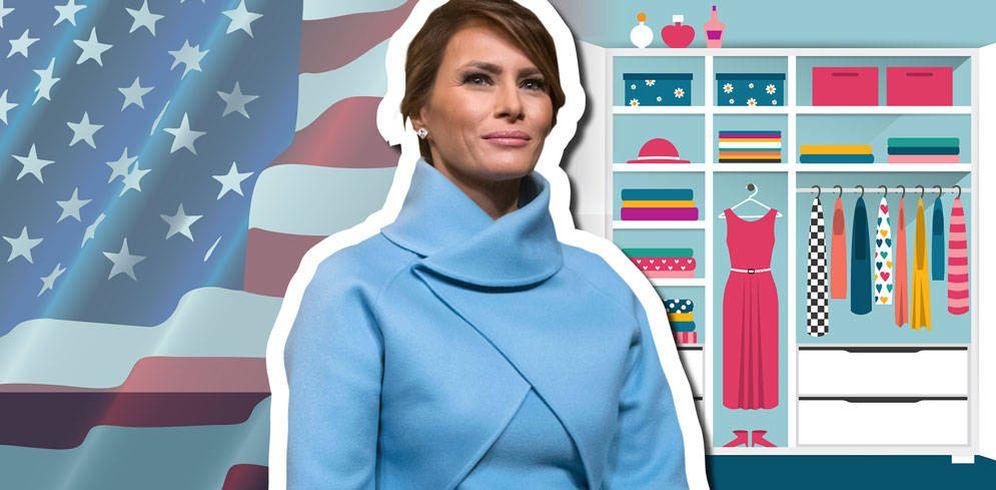 Foto: Melania Trump en un fotomontaje realizado por Vanitatis