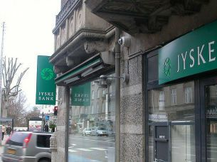 Oficina del Jyske Bank.