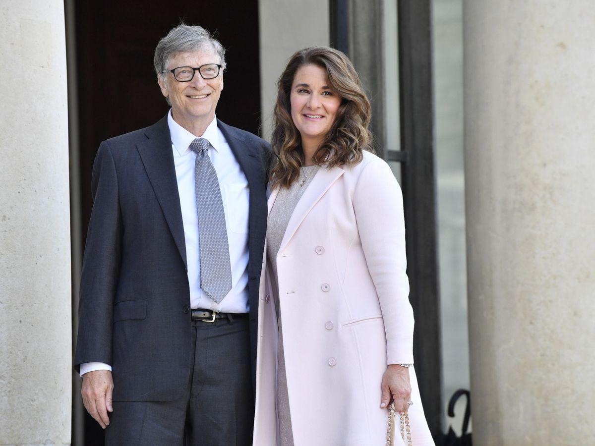 Foto: Bill y Melinda, en una imagen de archivo tomada en Francia. (EFE)