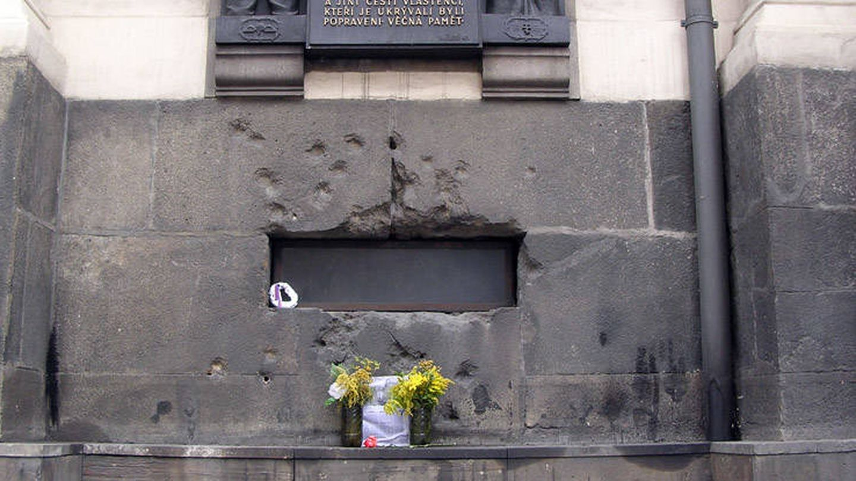 Iglesia en la que se refugiaron Jan Kubiš y Jozef Gab?ík. (Wikimedia Commons)