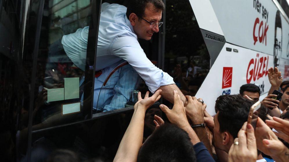 Foto: El opositor Imamoglu, favorito para la alcaldía de Estambul. (EFE)