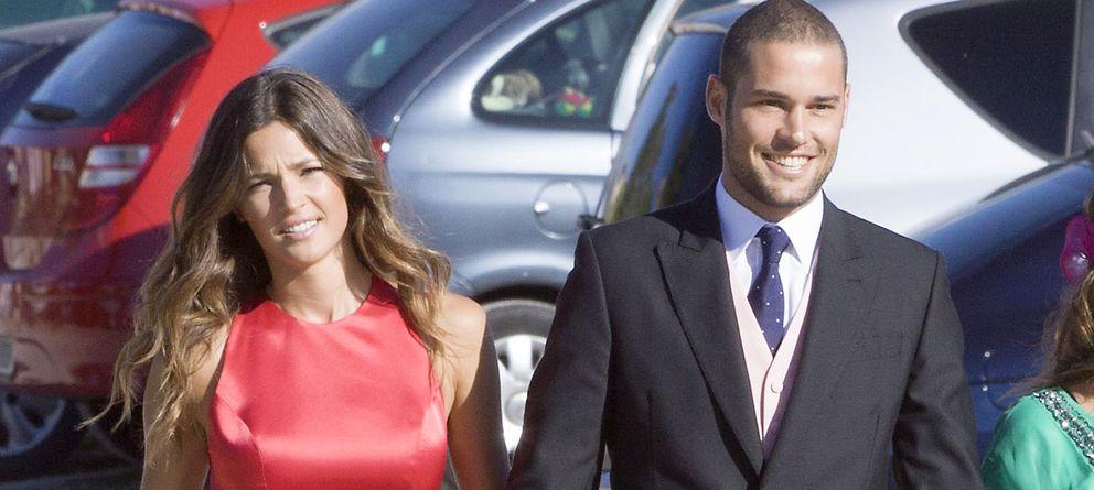 Foto: Malena Costa y su novio, Mario Suárez, en una imagen de archivo en Segovia (Gtres)