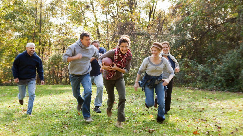 Foto: Practicar ejercicio en compañía siempre es mucho más divertido. (corbis)