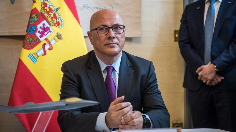 Foto: Ángel Olivares, este jueves. (EFE)