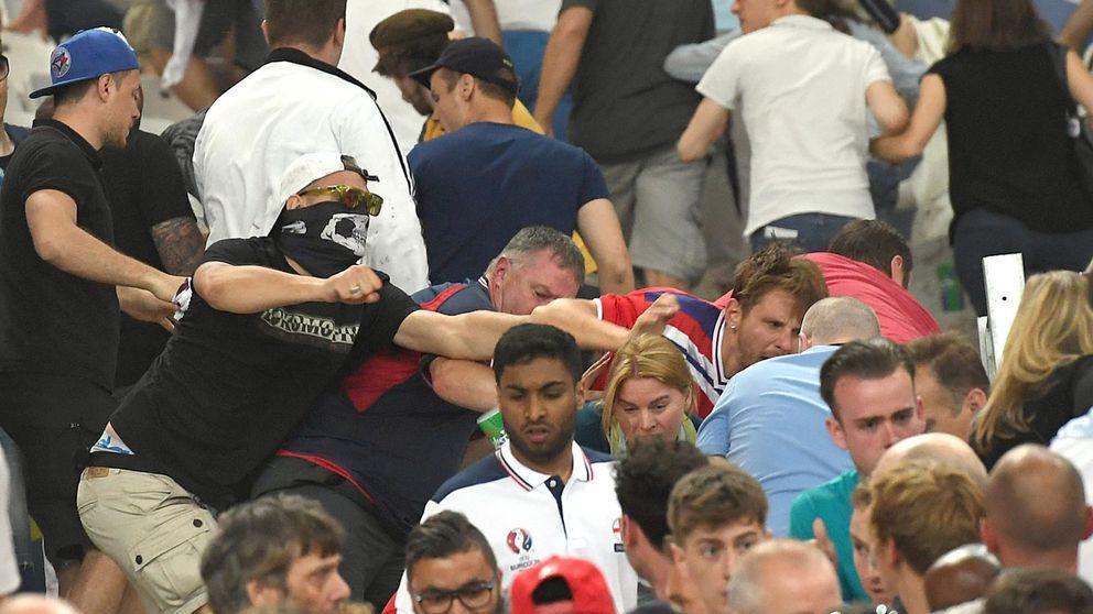 La UEFA descalifica a Rusia, pero lo deja en suspenso si no hay más altercados