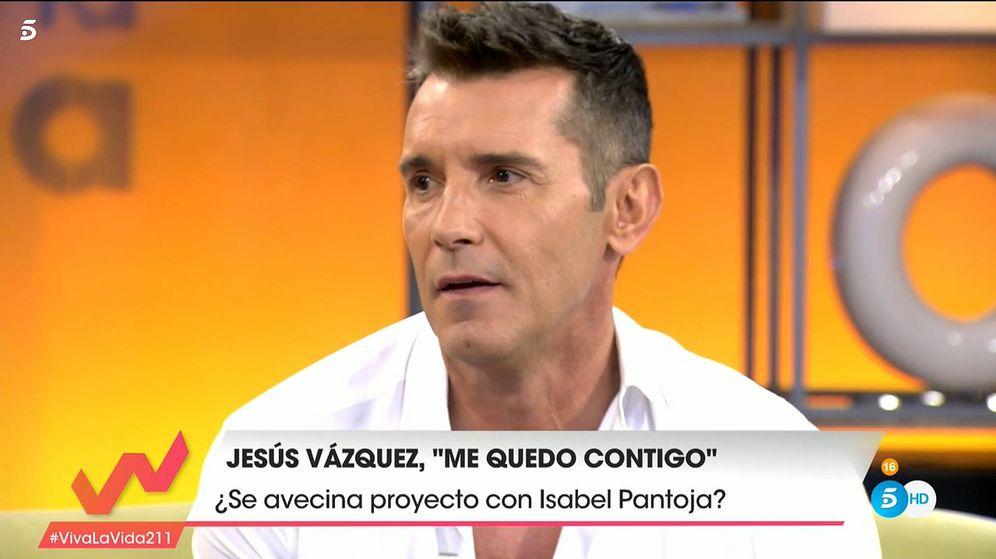 Foto: Jesús Vázquez, en 'Viva la vida'. (Telecinco)