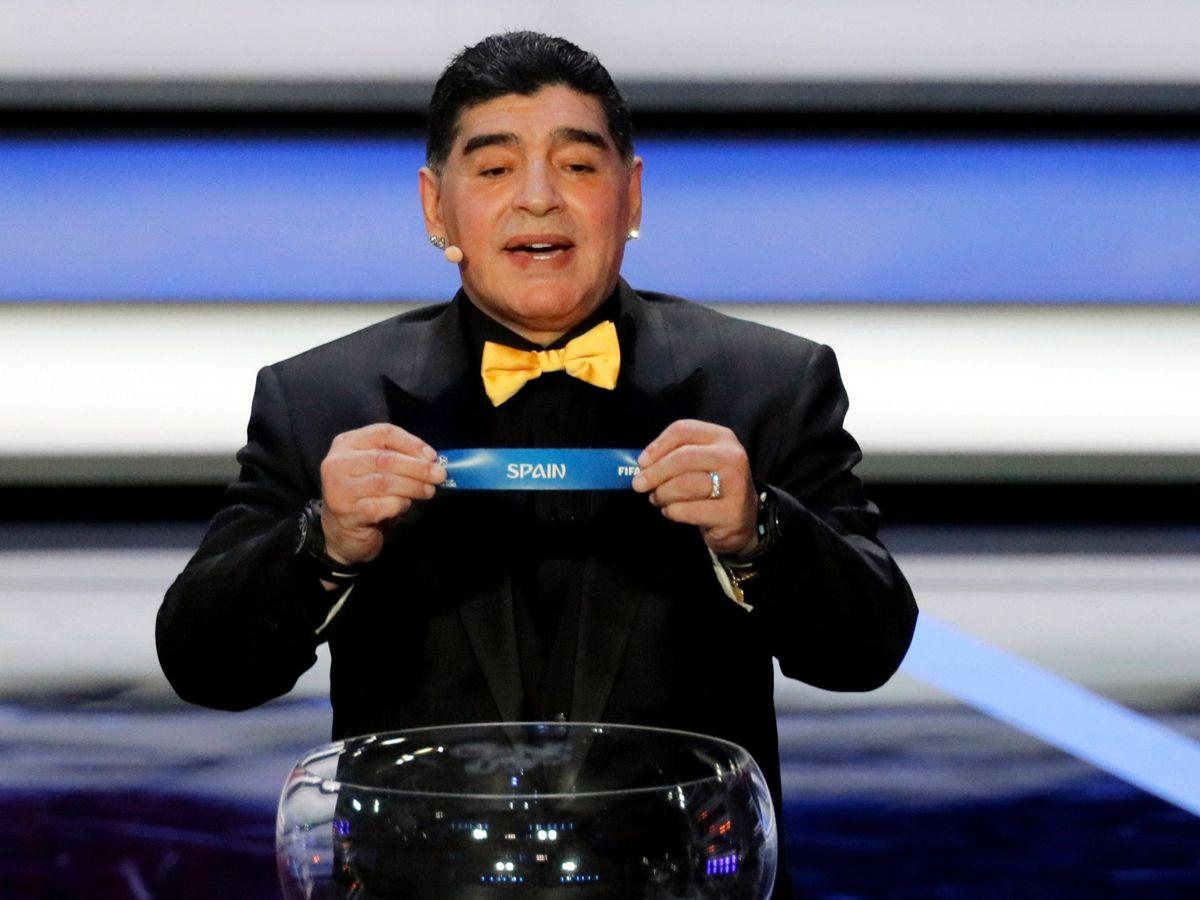 Foto: Maradona, en una imagen de archivo. (EFE)