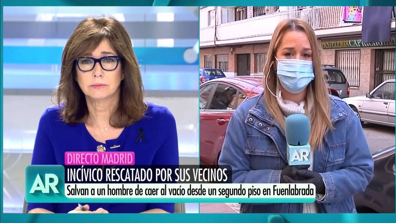 Ana Rosa, en conexión con Natalia Autrán. (Mediaset)